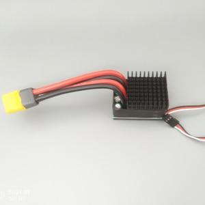 Image 3 - 480A/960A דו כיוונית מברשת ESC 10v 32v 24v 6S חשמל מהירות בקר עבור DIY RC ההפרש מסלול טיפוס מכוניות סירה