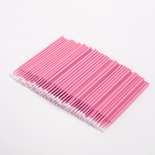 100PCS Tattoo Cotton Swab Lint Free Supplies Brush Microblading Micro Brushes Applicator Tattoo Accessories For Makeup 3