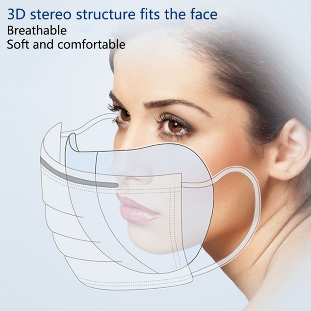 50PCS Anti-fog Mask Gasket Disposable Dust Mask Filter Anti-flu Formaldehyde Odor Protection Mask Protection Pads Protect 2