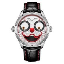 Topนาฬิกาอัตโนมัติผู้ชายดีเซลนาฬิกาSwissนาฬิกาผู้ชายราคาแพงJoker DiverนาฬิกาหนังRelojชาย