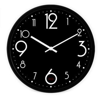 Modern Office Silent Wall Clock Vintage Home Decor Living Room reloj digital pared Silent Big Wall Watch Clock QZE048