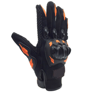 Image 2 - Nonskip Motorcycle Gloves For KTM Racing LOGO Unisex Touch Screen Motocross Gloves Breathable Cycling Racing Riding Motorbike