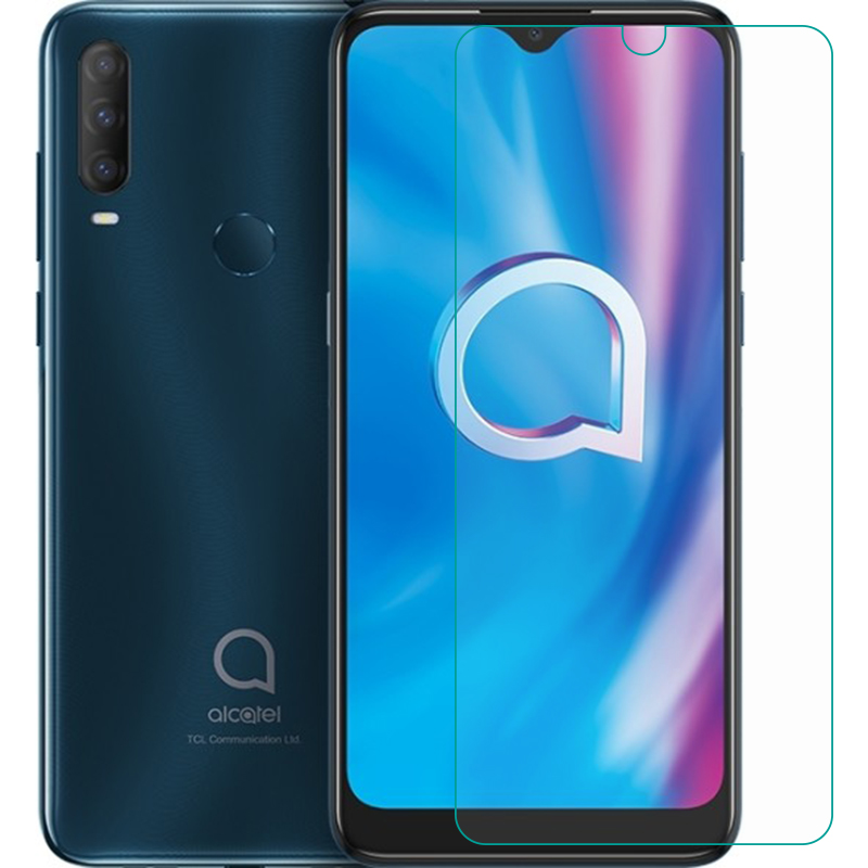 2PCS For Alcatel 1S (2020) Tempered Glass Protective FOR Alcatel 1S 2020 Screen Protector Glass Film Phone Cover