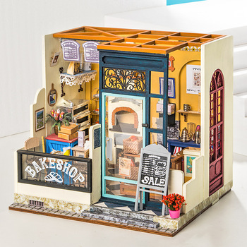Miniature Diy  Doll House Model Toy Art Handmade Small Assembled Educational Toys Creative Gift Ornaments