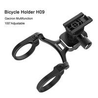GACIRON Extension Bracket Bike light Holder Phone Mount Holders Multifunction Aluminum alloy Stands For Motion camera Garmin