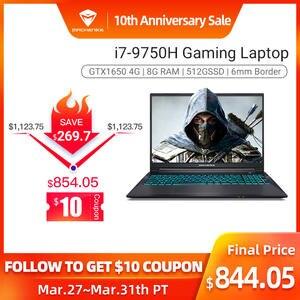 Machenike Gaming Laptop Notebook Metal T58-VB I7-9750h Ram/15.6inch Intel GTX1650 8GB