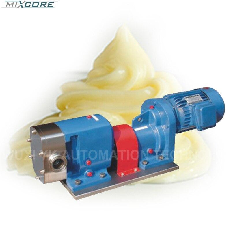 Le fabricant de haute qualité fournit une pompe à Rotor Lobe avec un composant de mélangeur émulsifiant de Service et de garantie