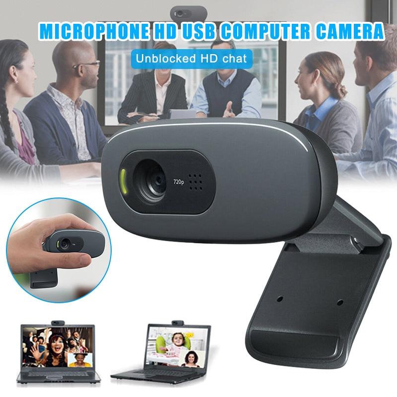 Caméra Webcam externe numérique caméras USB haute définition sans lecteur pour conférence de classe en ligne dq-drop