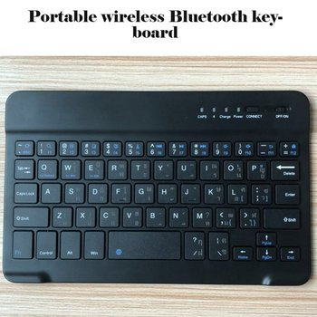 Slim Portable Mini Wireless Bluetooth Keyboard For Tablet Laptop Smartphone iPad Support IOS Android Universal