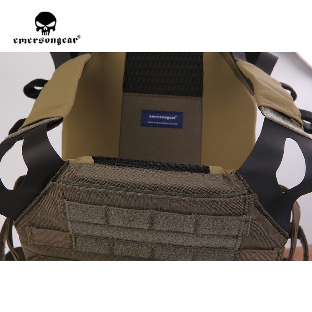Emersongear Emerson JPC gilet tactique gilet facile plaque transporteur armure corporelle airsoft équipement de protection Ranger vert RG