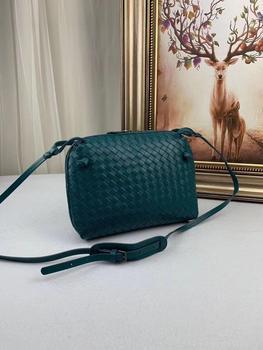 2019 fashionable lady's bag, leather knitted bag, fashionable leather handbag
