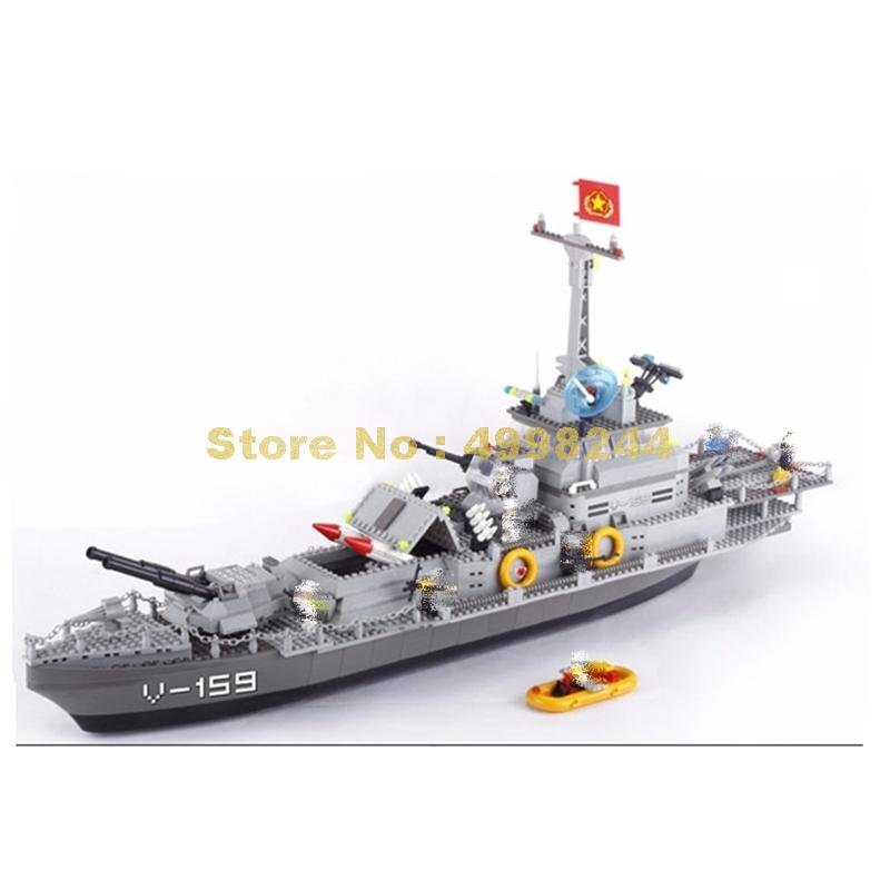 8240 1200 個軍事サンダークルーザー戦艦ビルディングブロックレンガのおもちゃ  グループ上の おもちゃ & ホビー からの ブロック の中 1