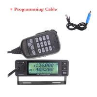 2019 LEIXEN VV 998S VV 998 Mini 25W Dual band VHF UHF 144/430MHz Mobile Transceive Amateur Ham Radio Car Radio