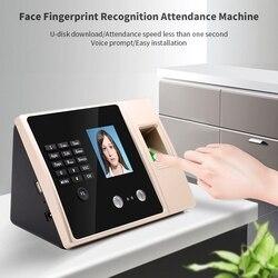 FA02 Viso di Presenza di Riconoscimento Dual Macchina Fotografica della Carta di Impronte Digitali di Controllo di Accesso Integrato Sistema di Controllo di Accesso della Macchina (Spina di UE)