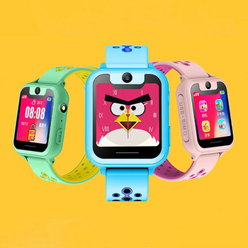 S6 Children smartwatch LBS positioning locator tracker SOS Voice Chat Anti Loss monitor waterproof smart watches Kids Gift 3