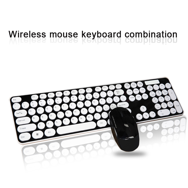English/Russian 2.4G Wireless Keyboard Mouse Set Adjustable Mouse 104 Key Gaming Keyboard For Android IOS Laptop Computer Gamers