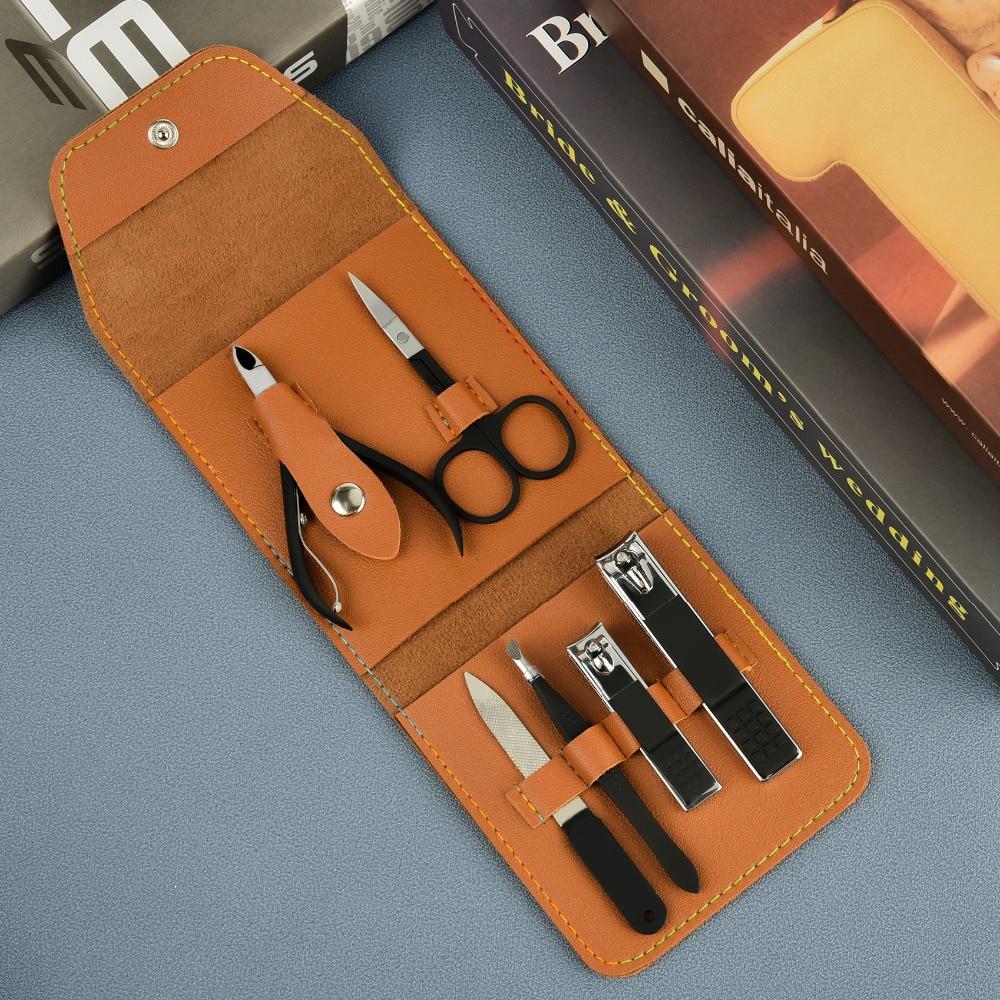 saco manicuer cortador para ferramentas pé kit