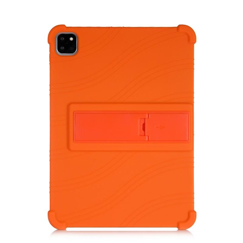 Orange Orange SZOXBY For iPad Pro 11 Case 2020 Flip Silicone Soft Cover For iPad Pro 11 2nd