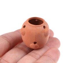 Flower-Pot Dollhouse Miniature-Accessories Simulation-Furniture Decoration Ceramics