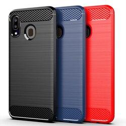 На Алиэкспресс купить чехол для смартфона carbon fiber brushed soft mobile phone case for -samsung -galaxy a10 m10 a10e a20 a30 m10s wide4 a20e jean2 a3 2017 a40 a40s