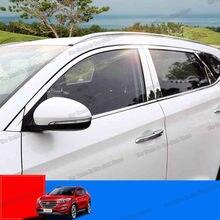 Lsrtw2017 нержавеющая сталь окна автомобиля хром пост полосы
