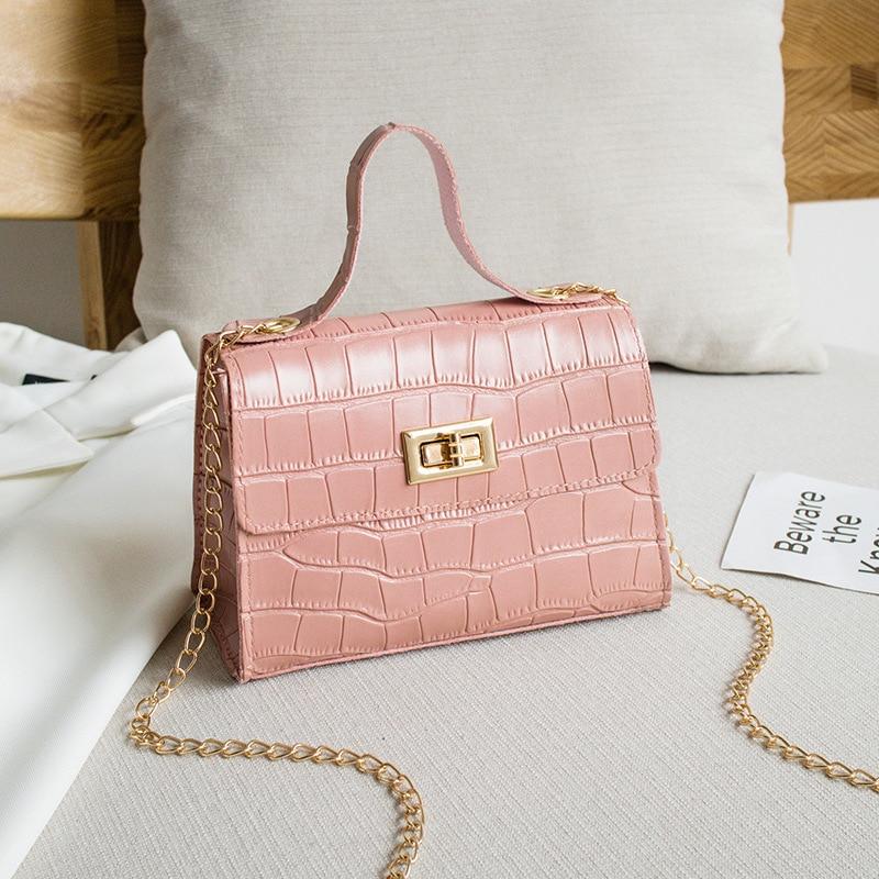 PU modne ženske torbice poletne nove krokodil vzorčne torbice - Torbice - Fotografija 1