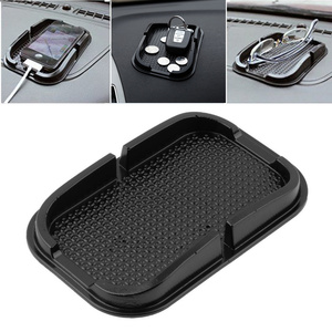 Image 2 - אוניברסלי ברכב אוטומטי פנים Accessoies דברים רצפת טלפון גאדג ט מחצלות שטיח אחיזת החלקה Pad GPS מחזיק מחצלת אנטי החלקה