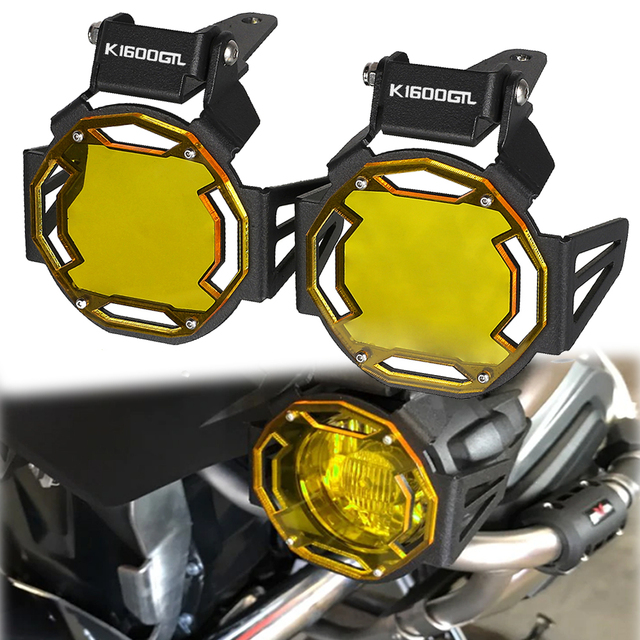 Motorcycle Flipable Fog light Protector Guard Lamp Cover For BMW K1600GT K 1600GT K1600GTL K1600 GTL K1600B Fog Light Lamp Cover