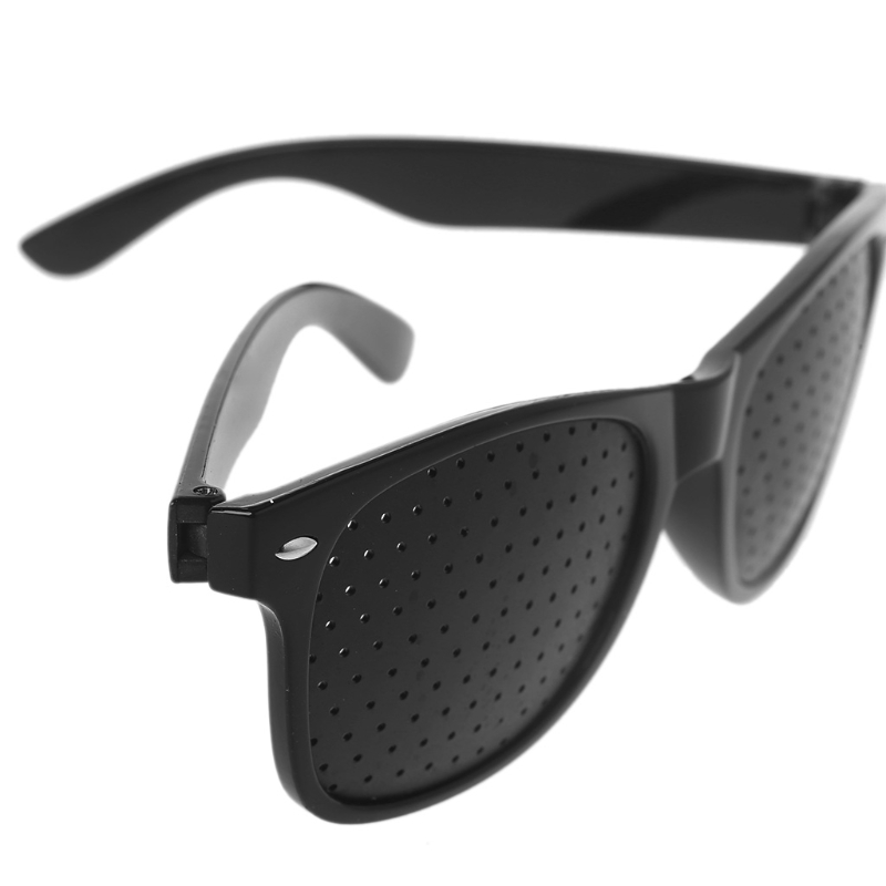 2019 New Vision Care Corrective Improve Pinhole Small Anti-fatigue Eye Protection Glasses