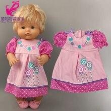 35cm Reborn bébé poupée vêtements 40cm Nenuco Ropa Y Su Hermanita poupée vêtements robe
