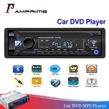 Авторадио AMPrime 1 Din Bluetooth sd-карта Мультимедиа DVD/CD плеер Coche Радио стерео Авто аудио стерео Automotivo USB