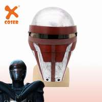 XCOSER Darth Revan Cosplay Mask Knights of the Old Republic Cosplay Costume Resin Halloween Masks For Men Women