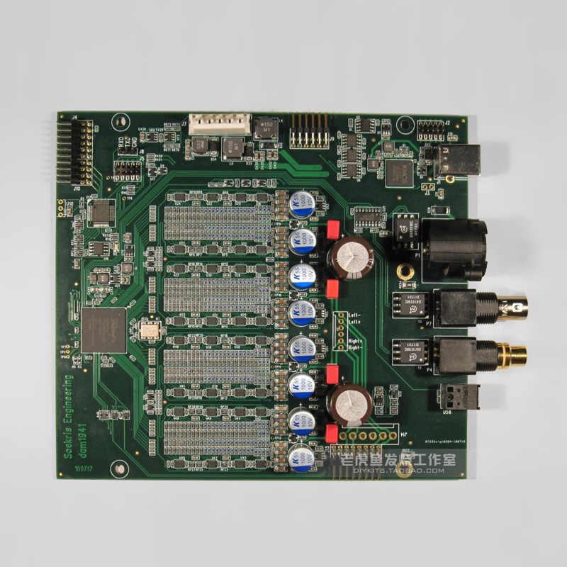Nueva placa decodificadora Soekris Dam1921 / 1941 completamente discreta R2R con XMOS USB equilibrado