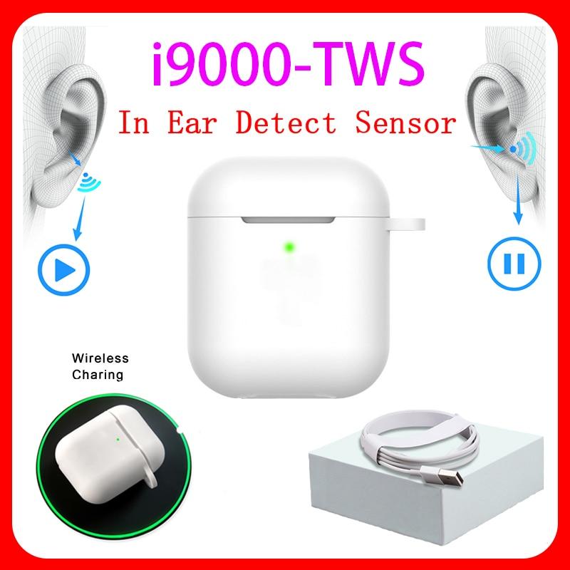 Original I9000 TWS 1:1 In-ear H1 Aire 2 Bluetooth Earphone Mini Wireless Earbud Headphone Aire2 Headset PK W1 Chip Elari Kulakli