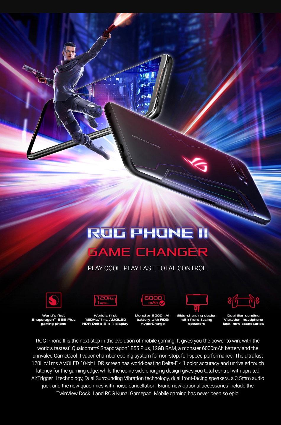 Asus ROG teléfono II ZS660KL 5