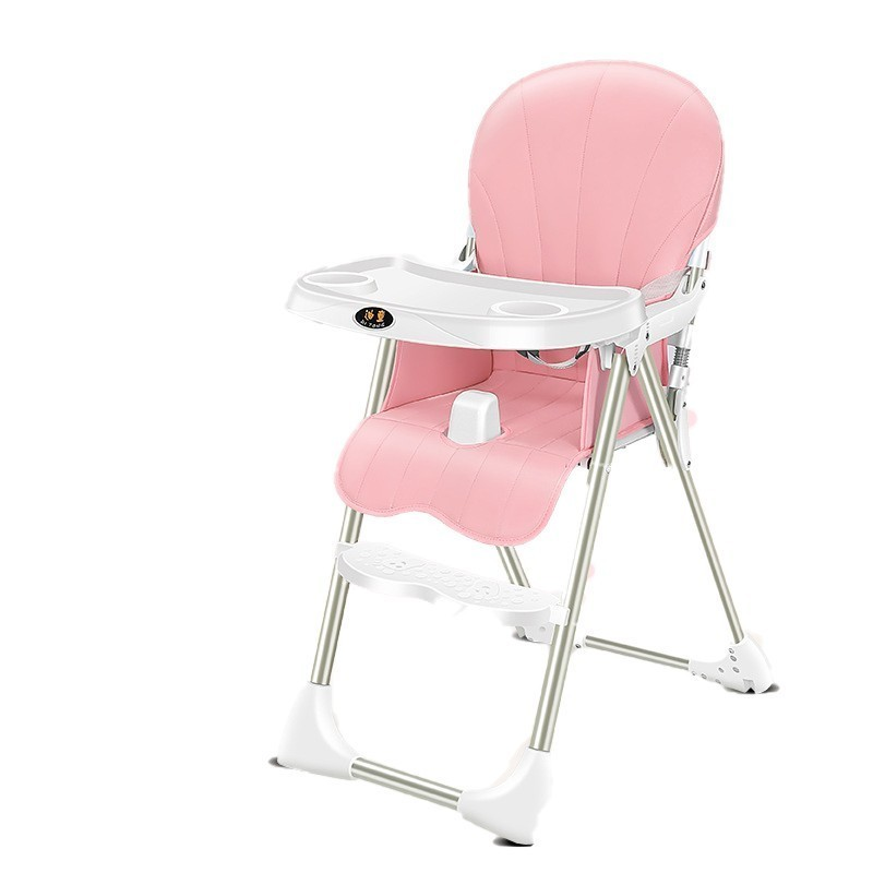 Luxury Quality Feeding Eating Child Highchair Plastic Chair Multifunctional Adjustable With Table Baby Seat Kids Furniture
