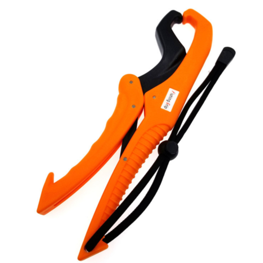 Lightweight 6 Inches Non-Slip Fishing Plier Solid Plastic Portable Floating Locking Lip Grip Easy Use Strong Grabber Jaw Design
