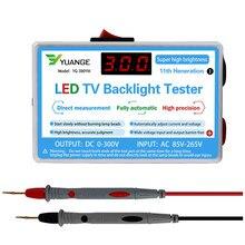 Probador de retroiluminación de TV con lámpara LED, tiras LED multiusos, herramienta de prueba de cuentas, instrumentos de medición para luz LED