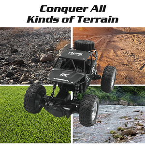 Image 4 - Radio Controlled Car Panel Climbing Off Road Remote Control Car RC Buggy 2.4GHz Climbing Car Bigfoot Car Model Off Road Vehicle