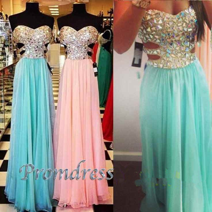 Real Sample Arrival Strapless Sweetheart Crystal Beading Best Selling Sexy Backless Long Prom Gown 2018 Bridesmaid Dresses