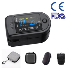 Original Blood Oxygen Monitor Finger Pulse Oximeter Oxygen Saturation Monitor Fast Shipping within 24hours (without Battery) veterinary fixation bag for small animals cat to patient monitor blood press monitor pets care free shipping