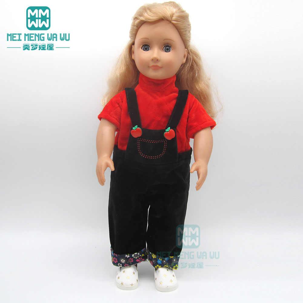 Kleding Voor Doll Fit 45 Cm Amerikaanse Pop Accessoires Mode Katoenen Pak Rose, Rood, Zilver, Geel