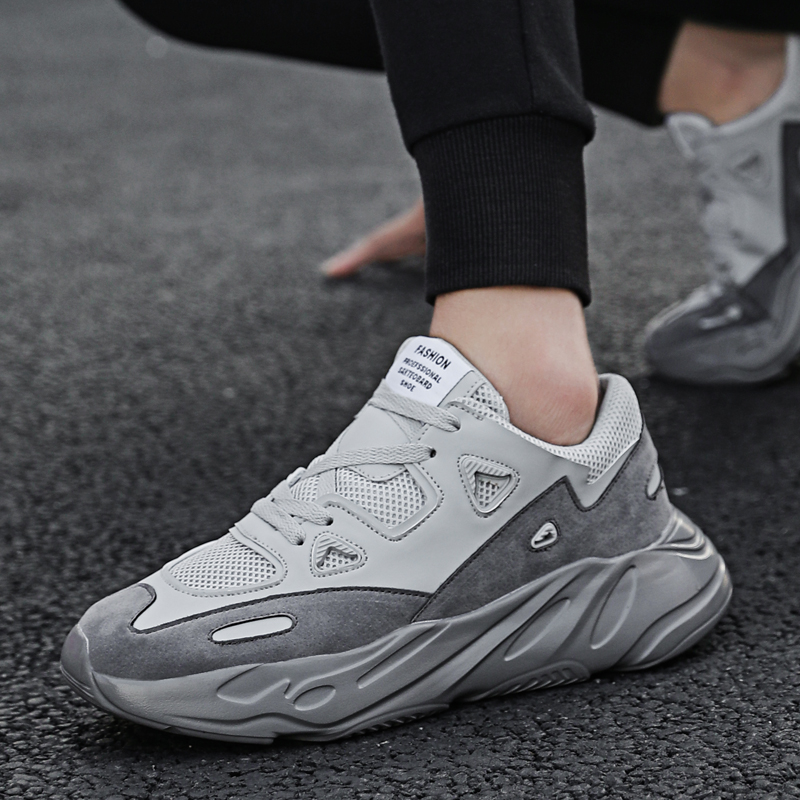 BIGFIRSE Men Sneakers  Flyknit Light Solf Fashion Sneaker For Man Spring Flats Shoes Zapatillas Hombre 2020 Men Sneakers Brand