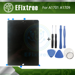 Montaje de LCD original para iPad Pro 10,5 A1709 A1701 LCD Pantalla de montaje Panel táctil DisplaBlack blanco EMC 3140 EMC 3141