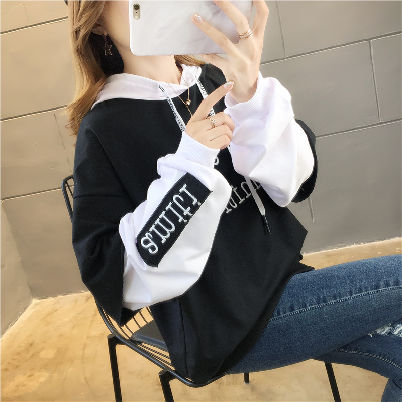 Hooded Vests 2019 New Ladies With Caps Loose Plus Velvet Long Sleeve Jacket Harajuku Hoodies Hoodies Women Winter Jacket Women