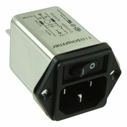 SCHAFFNER FN9263-3-06 Power EMC filter tail socket W// switch 250V 3A