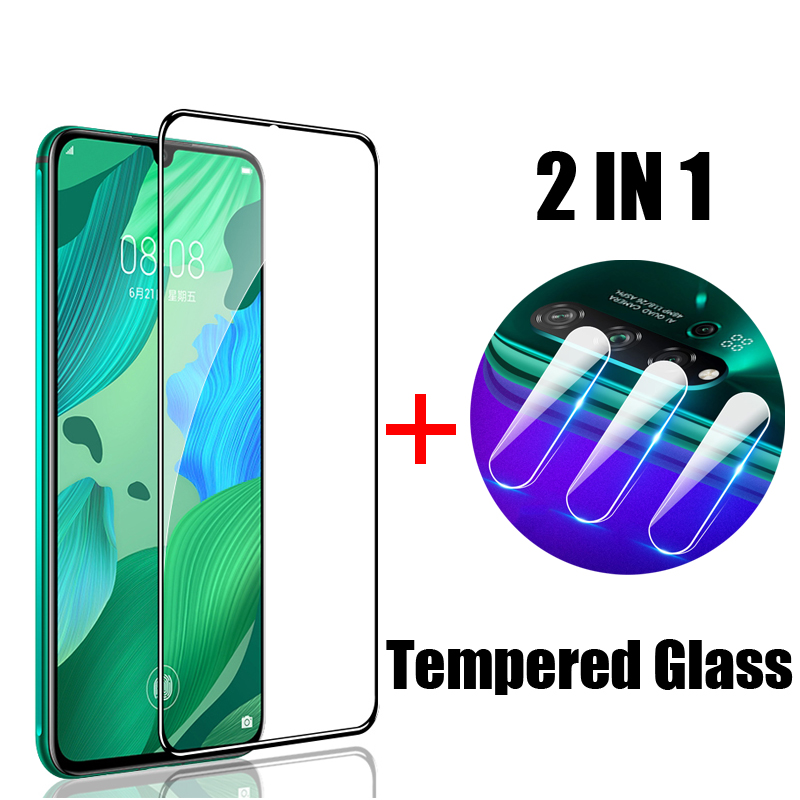 Screen Protector For Huawei Nova 4 3 5 Pro Protective Glass For Huawei Nova 5i 3i 2i 3E 4E 2S Tempered Glass Camera Lens Film in Phone Screen Protectors from Cellphones Telecommunications