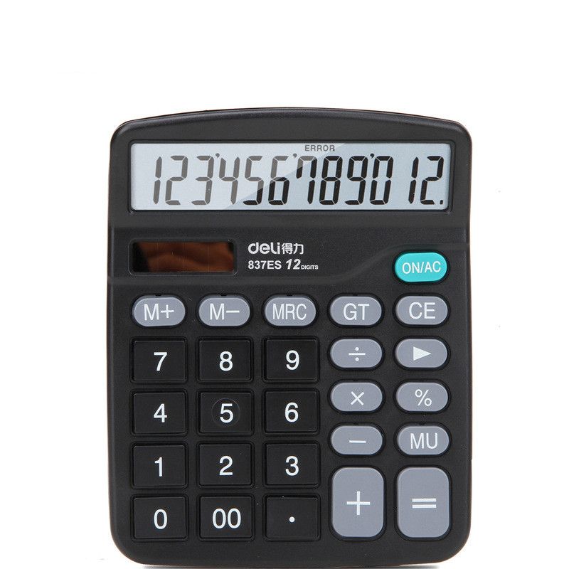 Advanced Professional Large Screen Business Solar Calculator Student Calculator Portable Calculator School Office Supplies