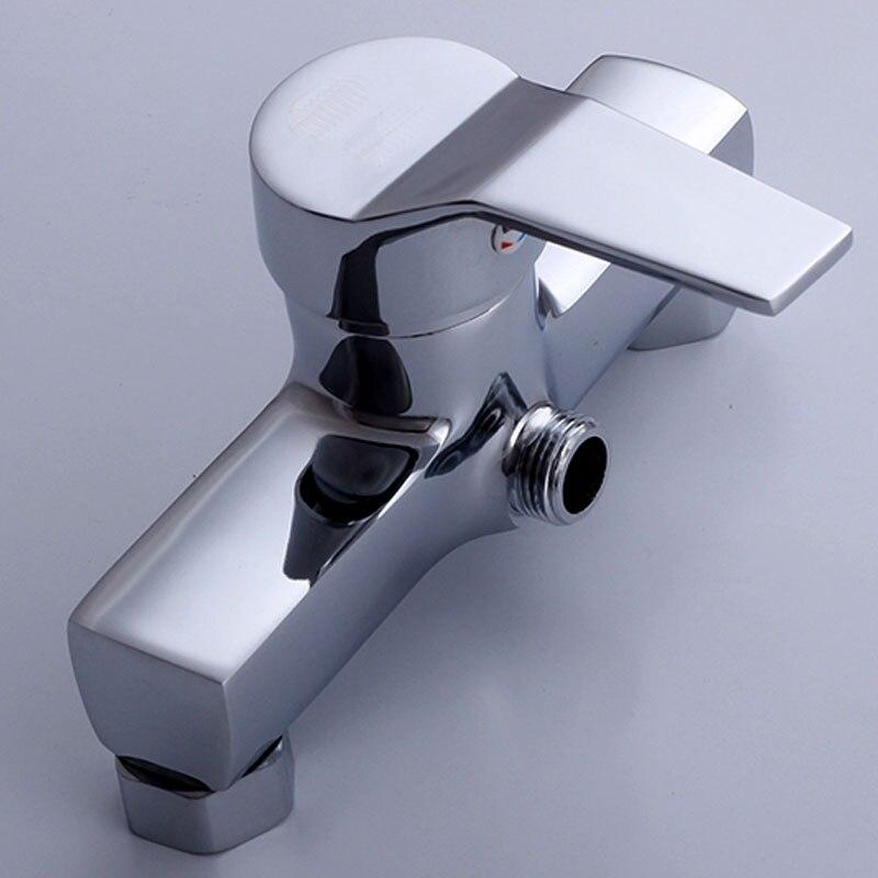 Zink-legierung Dusche Wasserhahn Nach Oben Heiße und Kalte Dusche Mixer Ventil Bad Wasserhahn In Die Wand