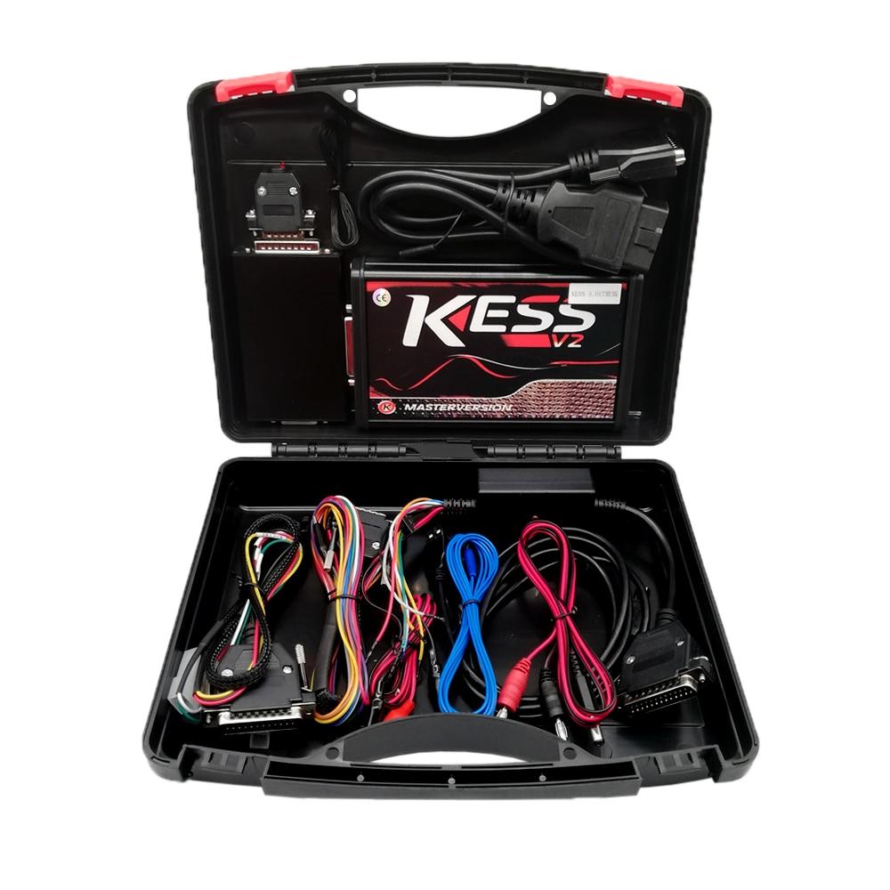 Ksuite Red PCB EU Online Master Version ECU Programmer Kess V2 V5.017 SW V2.53/V2.47 OBD2 Chip Tuning Tool